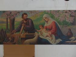 A Szent család olajfestmény