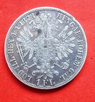 Ezüst 1 Florin 1878