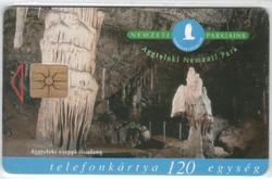 Magyar telefonkártya 0343  1999 Aggteleki nemzeti park   100.000  Db-os