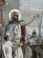 Túry Gyula festménye 1899.