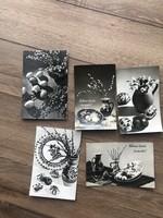 Régi húsvéti képeslap 5 db