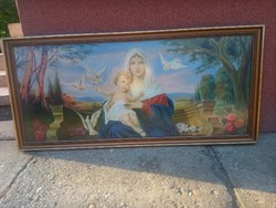 Festmény Szűz Mária kis Jézussal