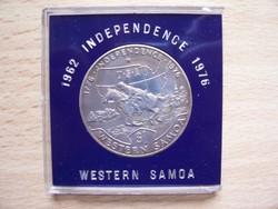 Nyugat Samoa 1 $ - 1 Tala 1976    1776 -1976  USA bicentenárium