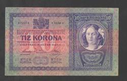10 korona 1904. VF+!! NAGYON SZÉP!! RITKA!!