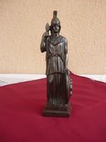 Pallasz Athéné 26 cm bronzirózott Spiáter