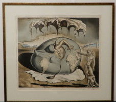 """Salvador Dali, """"Enfant géopolitique observant la naissance de l'homme nouveau"""""""