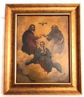Mária megkoronázása – Ikon – 21.