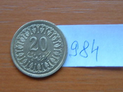 TUNÉZIA 20 MILLIM 1983 AH1403 #984