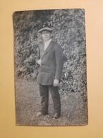 Antik levelezőlap, fotó képeslap, 1941