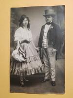Antik levelezőlap - fotó képeslap