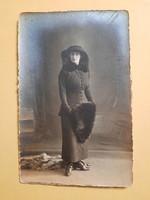 Art Deco levelezőlap - fotó képeslap
