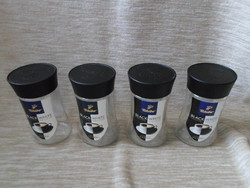 Kávésüvegek tetővel tároláshoz (Tchibo kávé, üveg) 3.