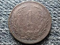 Osztrák-Magyar 1 fillér 1900 KB (id43167)