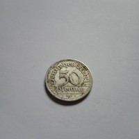 """50 Pfennig 1921 """"A"""" !     ( 3 )"""