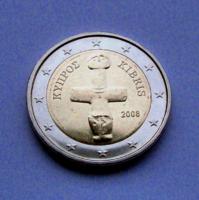 CIPRUS - 2 EURO - 2008 - az ősi pomoszi bálvány