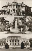 Régi képeslap, Dorog -  városképek