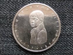 Németország 200 éve született Heinrich von Kleist .625 ezüst 5 Márka 1977 G (id16061)