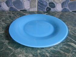 Arc kistányér lapos francia üveg kék 19,5 cm