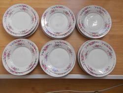Gyönyörű alföldi porcelán tányér készlet 20 db