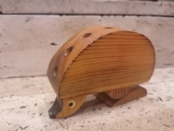 Retro fa süni toll-ceruzatartó, íróasztali kellék