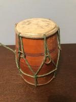 Fa - bőr dob régi népi hangszer
