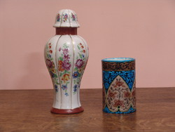Régi porcelán lámpa test