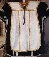 Jezsuita rend, papi ruha! 19. század végei/20. század eleje! Dalmatika, és miseruha!