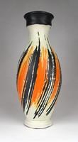 1C076 Régi hibátlan Gorka Lívia kerámia váza 27.5 cm