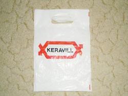 Retro Keravill - bolt áruház reklámszatyor reklám nylon nejlon szatyor zacskó - 1970-1980-as évekből