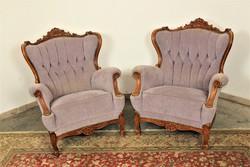 A118 Neobarokk fotelek párban