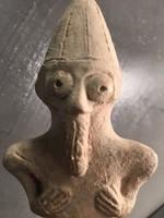 BAAÁL figura - Közel - kelet - Babilonia  - cc 2000 éves - EREDET IGAZOLÁSSAL