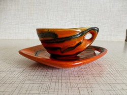 Ritka, retro,vintage Tófej kerámia kávéscsészék