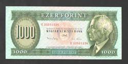 """1000 forint 1993. """"E"""".  UNC!!  RITKA!!"""