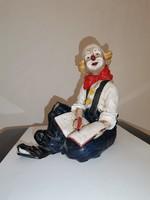 Vivian C. kerámia bohóc figura