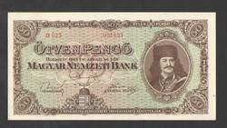 50 pengő 1945. UNC!!