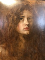 Karlovszky Bertalan - Fiatal lány portréja - F/2020/00048