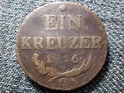 Ausztria II. Ferenc (1792-1835) 1 Krajcár 1816 O (id43080)