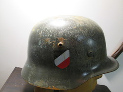 II. vh. német Wehrmacht sisak