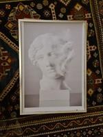 Antik mellszobor kép/plakát/nyomat