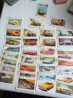 32 db autós kártya