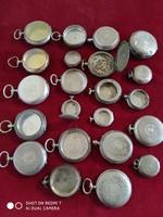 Ezüst zsebóra alkatrész csomag (tört ezüst árban)