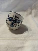 Hollóházi kék mintás csésze potlásra