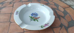 Kardos Meissen, kézi festett hamuzó,hamveder, luxus porcelán!!