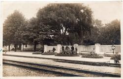 Fonyód-fürdő vasútállomás 1926