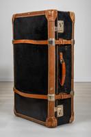 Kindelbrück VEB koffer bőrönd, nagy méretű