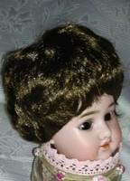Paróka babára  /Glorex márkájú/ barna színű