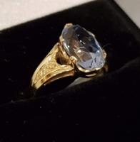 AKCIÓ -10% Nagyon szép, régi, mutatós arany gyűrű 14 K