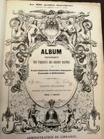 Album, Histoire des Papes, RENDKÍVÜL RITKA, EGYEDÜLÁLLÓ, 50 metszetet tartalmazó album !!!