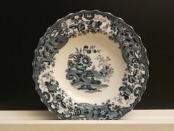 4 db, antik, angol fajansz Copeland Late Spode - May dekor, lapos és mély tányér