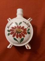 Zsolnay porcelán festett kulacs